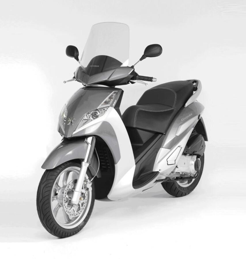 Peugeot Motocycles Geopolis 250 Premium Details