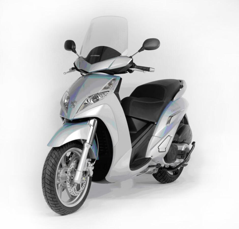 Peugeot Motocycles Geopolis 500 Premium Details