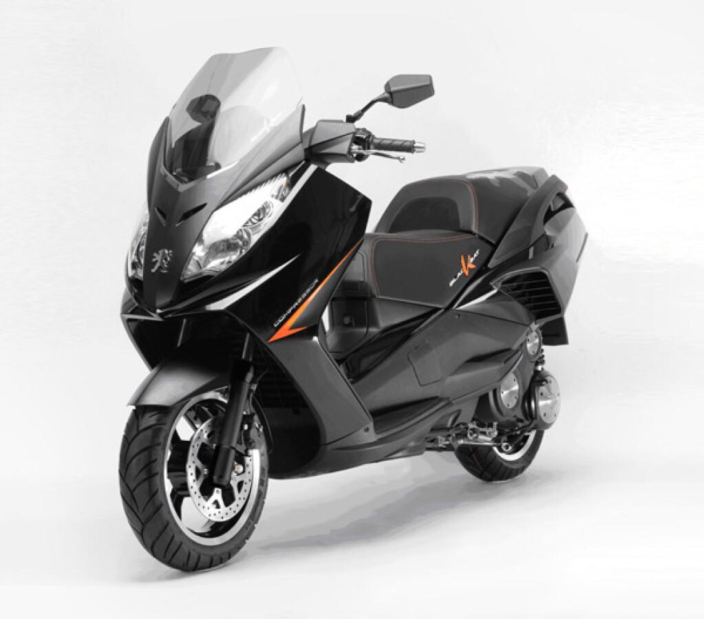 Peugeot Motocycles Satelis 125 Blacksat Details