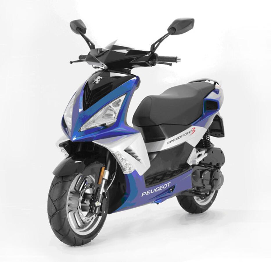 Peugeot Motocycles Speedfight 3 Details