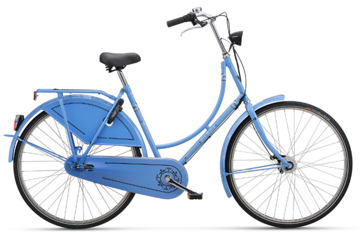Batavus Old Dutch blau Details