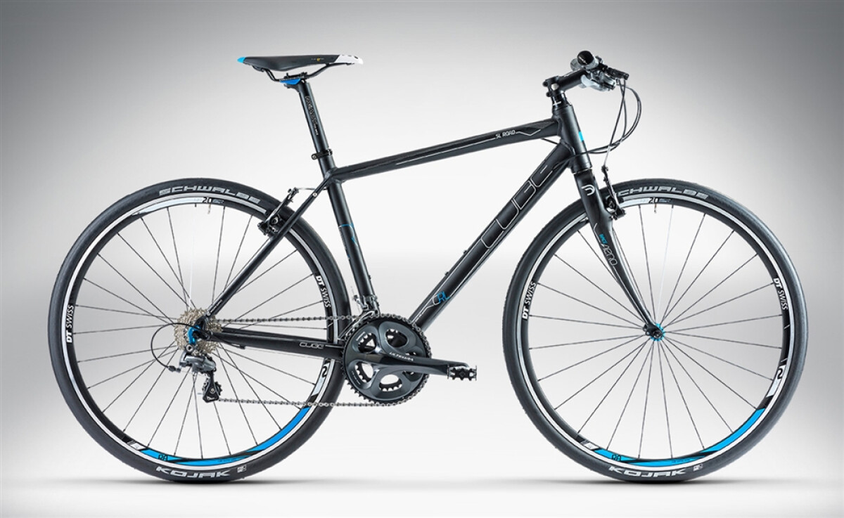 Cube SL ROAD RACE Black Anodized Details