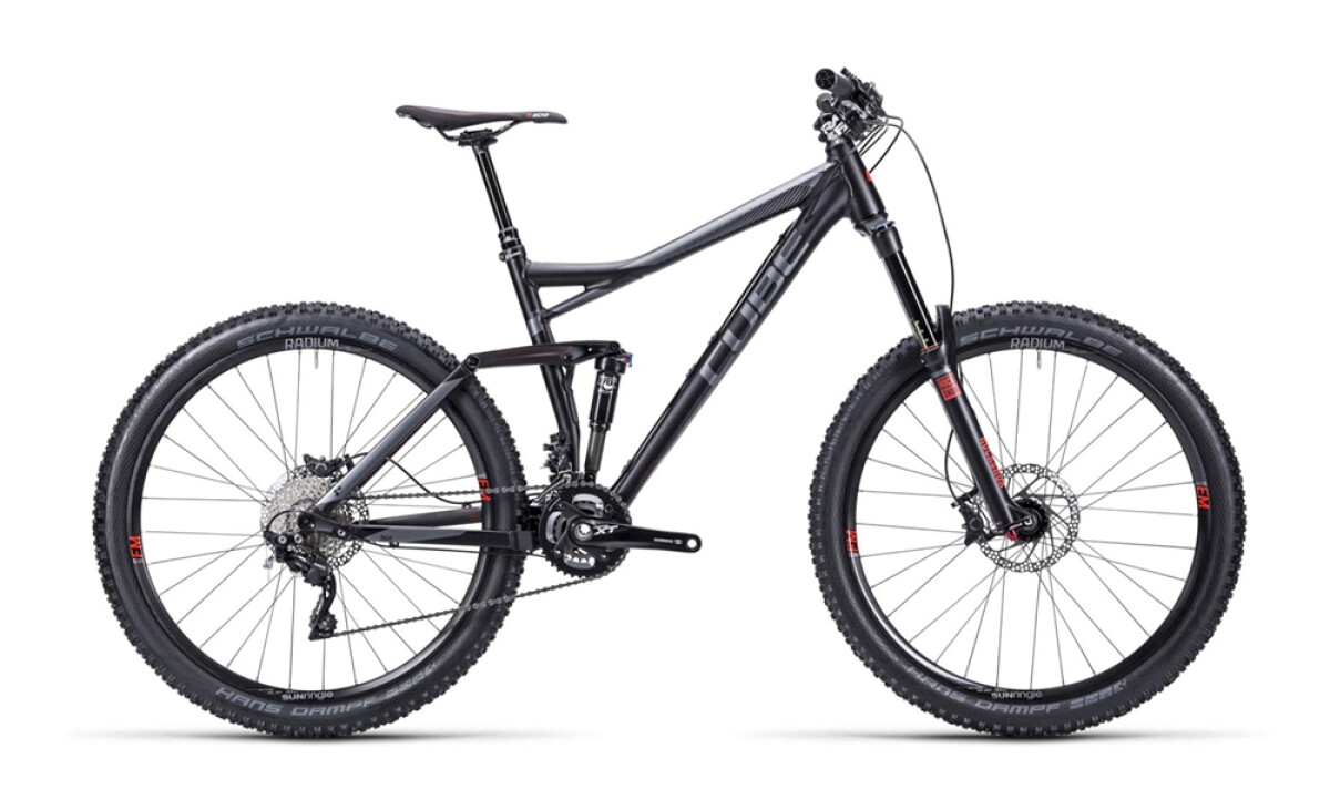 Cube Stereo 160 HPA Race black anodized Details