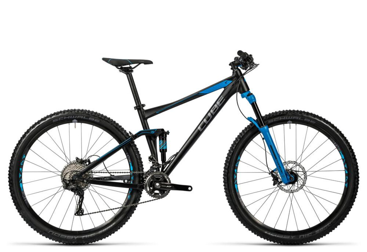 Cube Stereo 120 HPA Race black´n´blue Details
