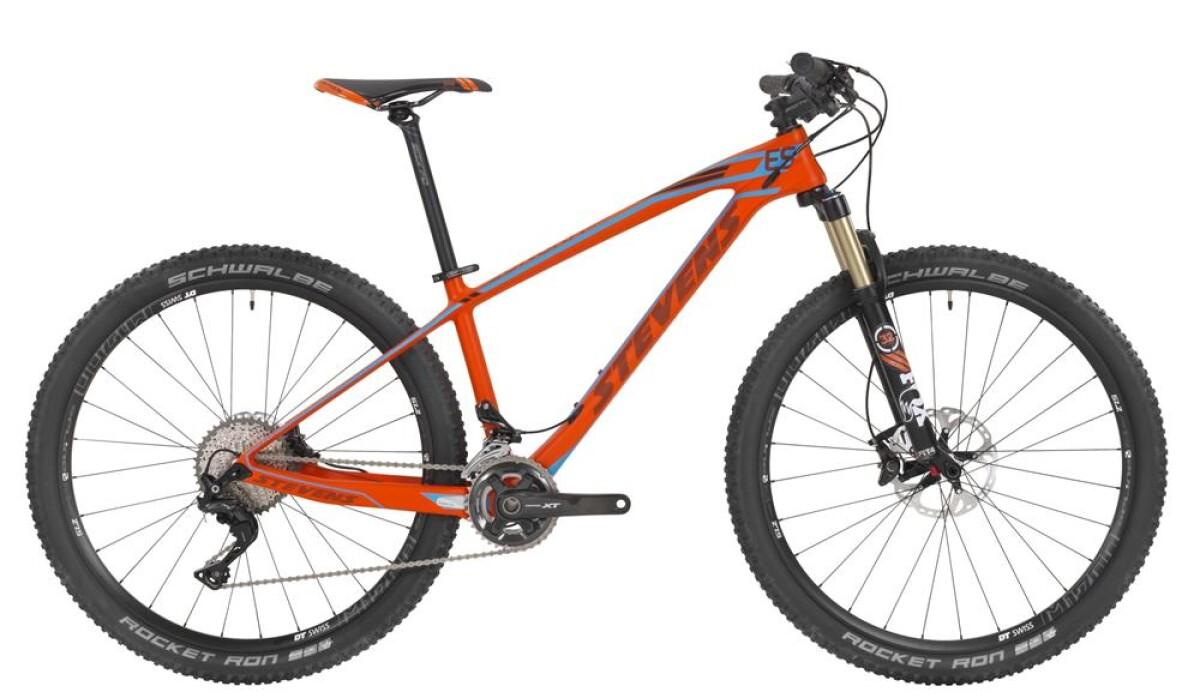 """Stevens Sonora ES 27.5"""" Fire Orange Details"""