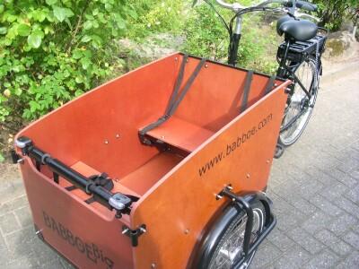 Babboe Transportrad mit E-Motor