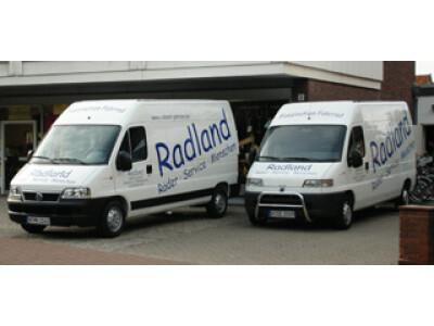 Die Radland-Service-Flotte