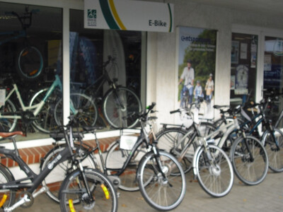 Wilkommen in unserem E-Bike Center