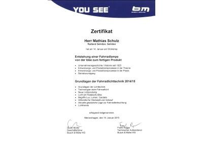 Zertifikate und Auszeichnungen