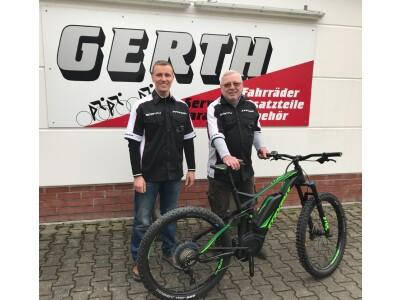 Das Team von Fahrrad Gerth!