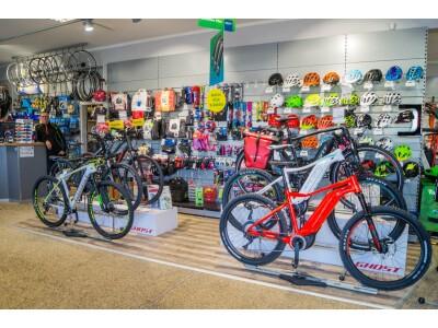 Fahrräder und Zubehör aller Topmarken
