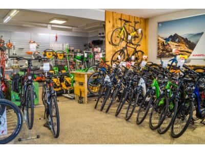 alle Fahrradtypen, auch als E-Bikes