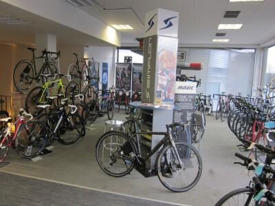 obere Etage Radsportabteilung