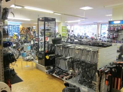 untere Etage Blick in den Laden