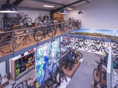 Der Shop im neuen Gebäude