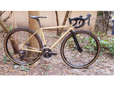 Ritchey Outback Gold Custom Paint Shimano GRX