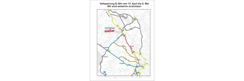 Vollsperrung B 304 2021-04