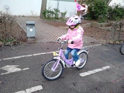 """Die """"Kleinen"""" ganz """"Groß"""" bei Fahrradfahren"""
