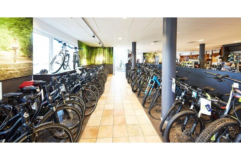 E-Bike Abteilung