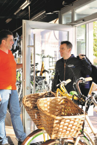 Die Firma Bohle zu Besuch im Radland Gehrden
