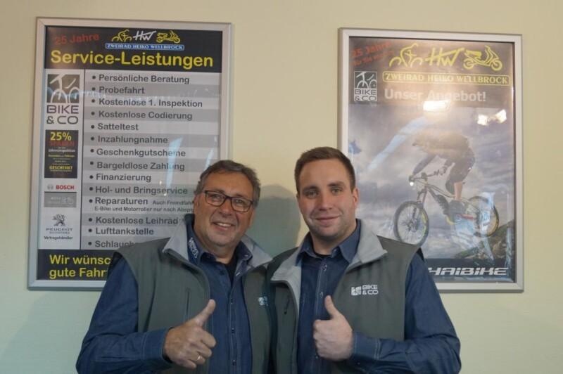 Herzlich Willkommen bei Zweirad Heiko Wellbrock