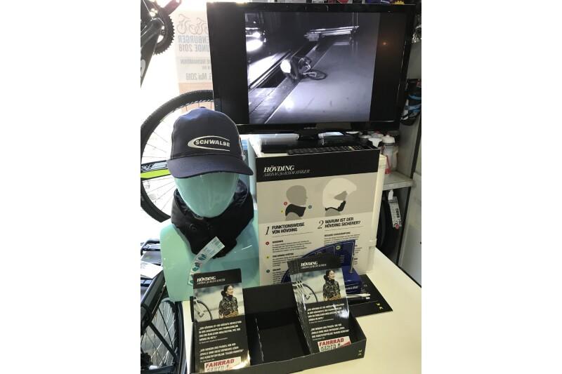 Der Airbag für Helm-Verweigerer