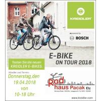 KREIDLER E-Bike on Tour 2018