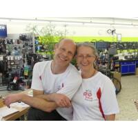 Liebe Grüße an Seavo, das kanadische Tandem auf Europatour