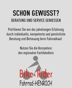 Herzlich Willkommen bei  Fahrrad-HENRICH