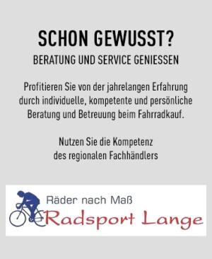 Herzlich Willkommen bei Radsport Lange