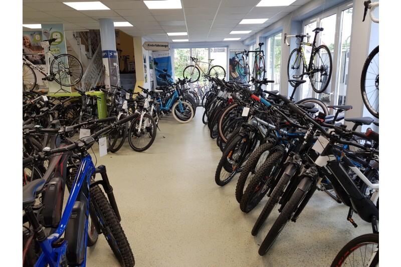 Unsere E-Bike-Etage
