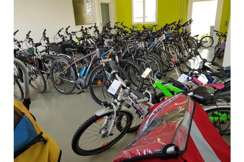 Unsere Gebrauchträder und Leihräder