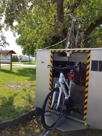 Unsere Fahrrad-Waschanlage