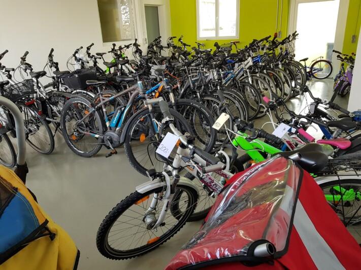 Unsere Leihräder und Gebrauchträder