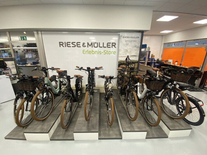 Riese und Müller Erlebnis Store