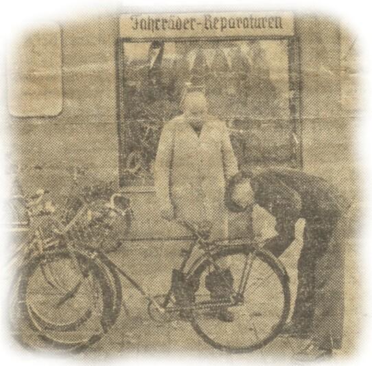 Der Fahrrad Herbst