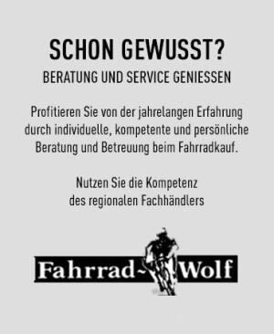 Herzlich Willkommen bei Fahrrad Wolf, Ihrem Fahrradfachgeschäft vor Ort.