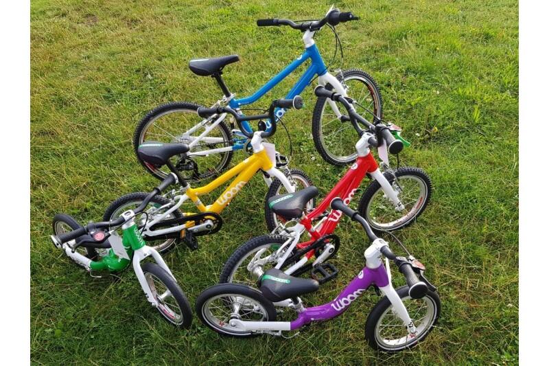 Woom... Die superleichten Kinderräder
