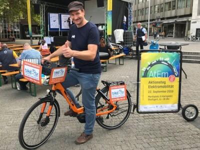 Aktionstag Elektro-Mobilität in Stuttgart