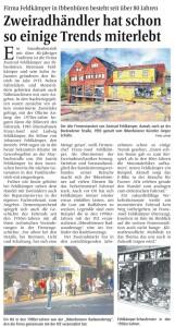 Firma Feldkämper in Ibbenbüren besteht seit über 80 Jahren
