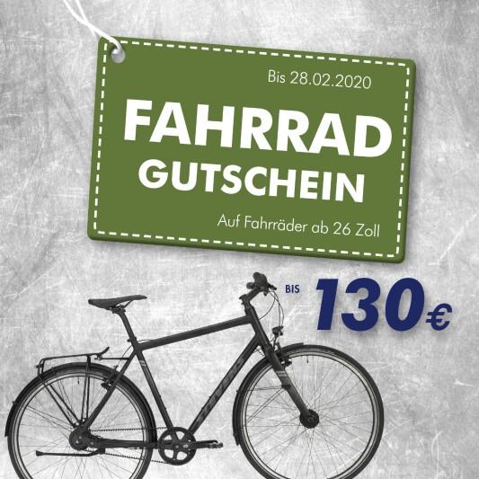 Fahrrad Gutschein