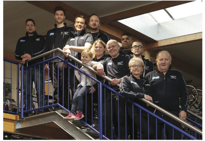 """Das Team von """"Radsport Weiß meets Radsport Nagel"""""""