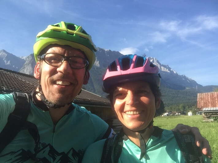 Alpenüberquerung