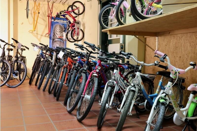 Auch die Kleinen haben schon Fahrrad-Träume