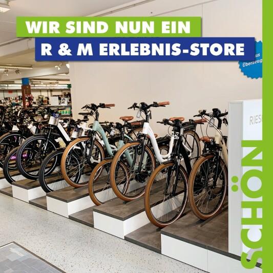 Wir sind nun ein Riese & Müller Erlebnis-Store