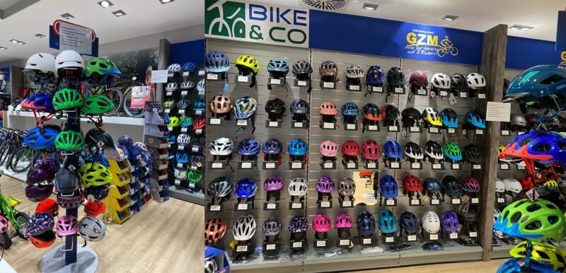 Hier finden Sie Helme für Groß und Klein