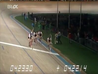 Olympische Spiele München 1972 Radfahren Mannschaftsverfolgung