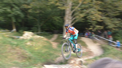 1. Start bei Enduro Rennen/ Cycle Cross U 23