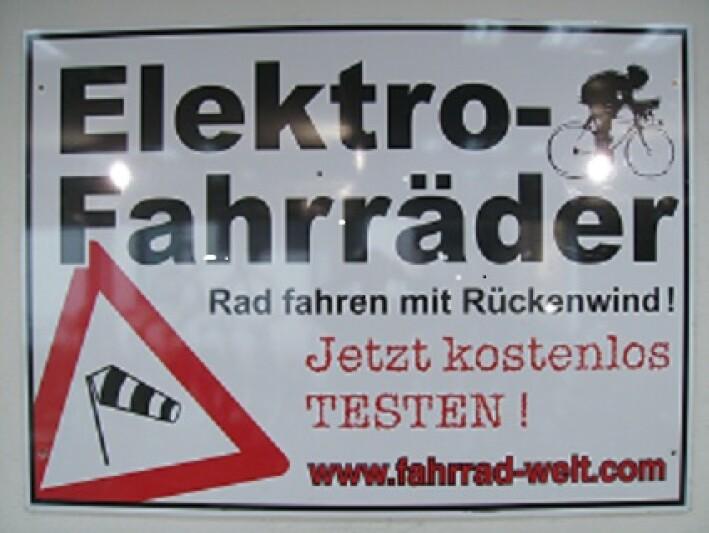 Fahrrad-Welt E-Bike Center in Sulingen