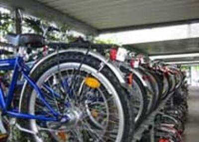 Verkauf von gebrauchten Fahrrädern